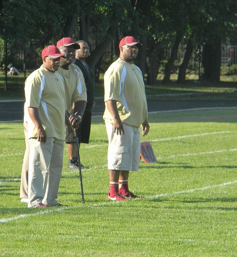 Uplift coaching staff. Photo credit: Todd Thomas