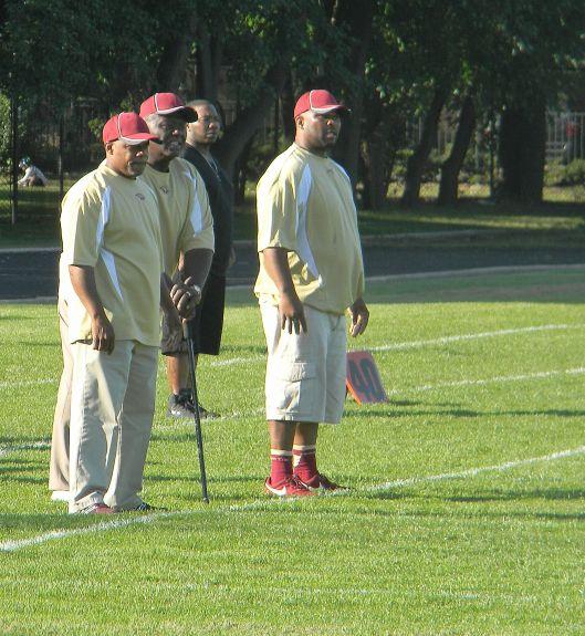 Uplift coaching staff. Photo credit: Todd Thomas